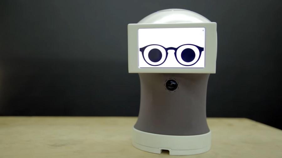 робот анимации