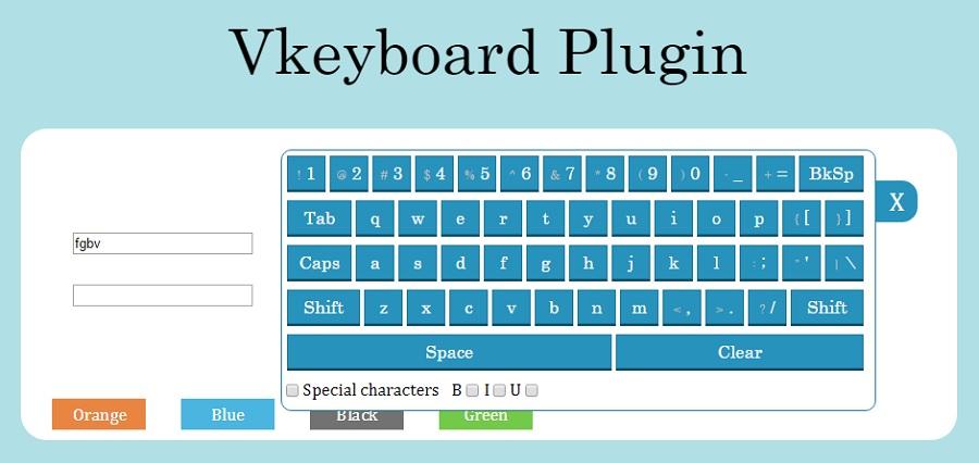 плагин виртуальной клавиатуры