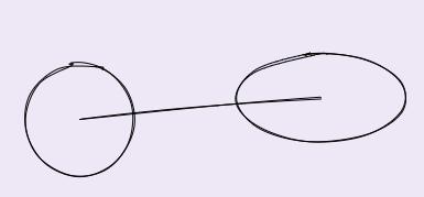 линия и эллипсы