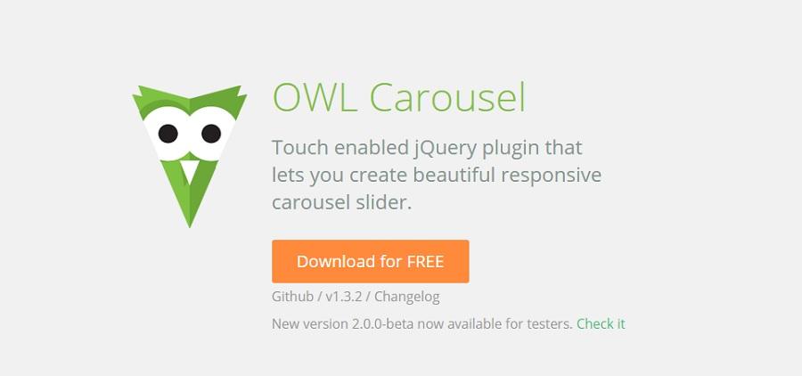 плагин owl carousel