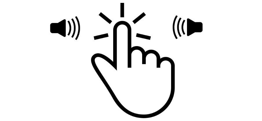 звук при клике по кнопке