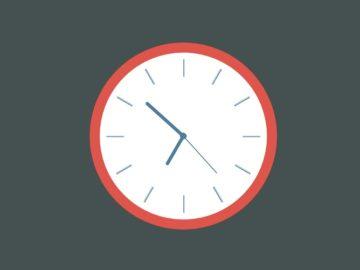 часы на css3 и jquery