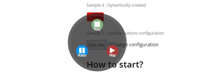пример кнопок