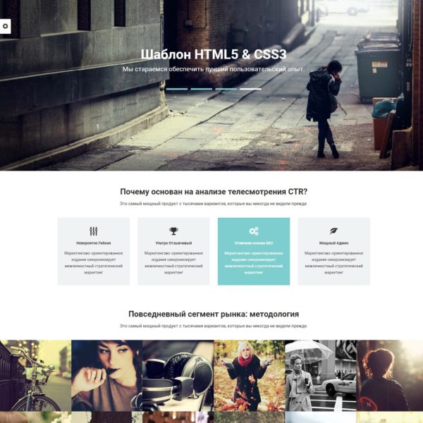 Negotium | разносторонний бизнес шаблон HTML5 + интернет-магазин