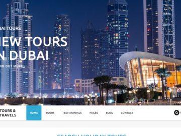 Luxury Travel шаблон