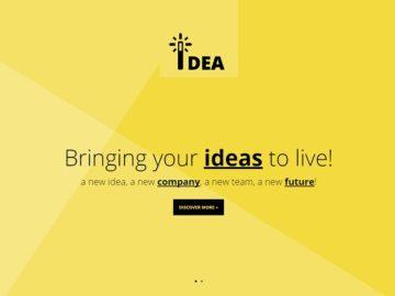 idea-html шаблон