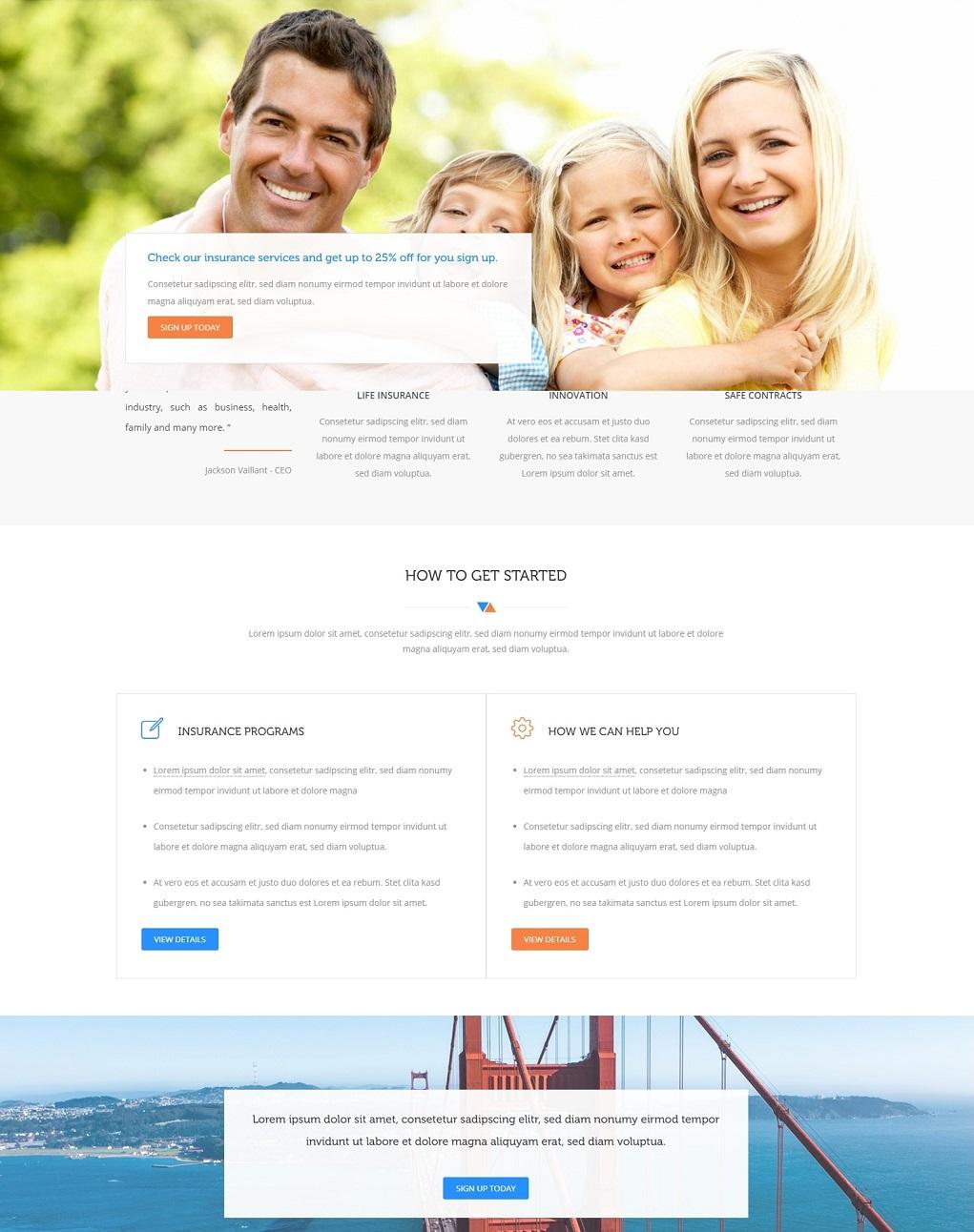 Корпоративный шаблон для сайта HTML5 & CSS3 // 2